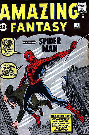 The cover of a Spider-Man comic book.