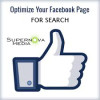 optimize Facebook page for search