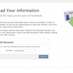 How to Download/Backup your Facebook Profile and Page