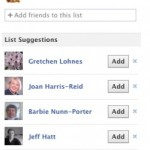 The (Google) Plusification of Facebook – Smart Lists