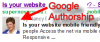 Google's Authorship in 3 easy steps