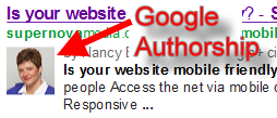 Google Authorship in 3 easy steps