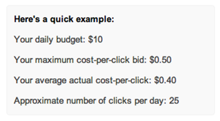 Google AdWords Sample